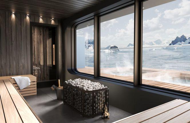 SH Minerva, Luxury Sauna